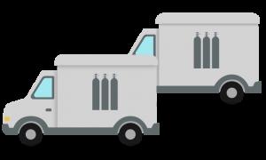 Cylinder Delivery Vans