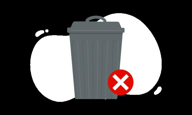 No waste Symbol